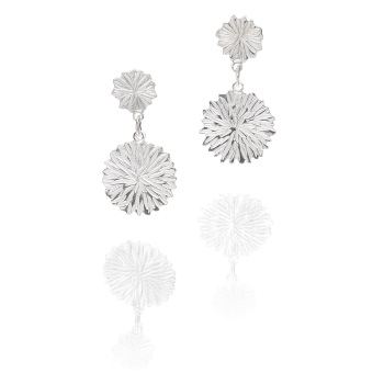 Dahlia Drop Earrings