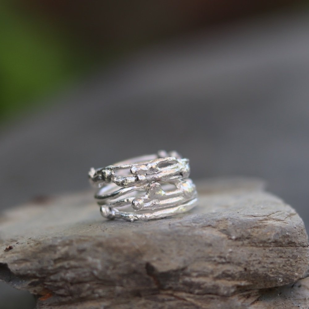 Four Week Online Live Silver Jewellery Class on Monday Evenings