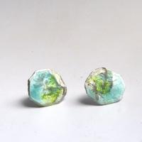 Silver Stud Earrings - Looking up to The Sky Silver Stud Earrings
