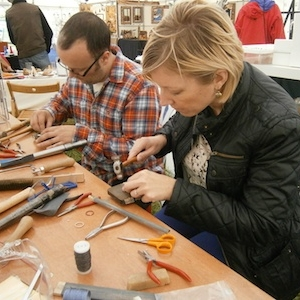 Workshop at Craft Fair