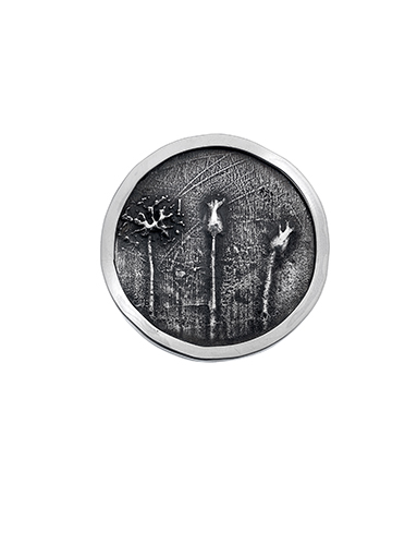 cathy newell price winter hedgerow brooch