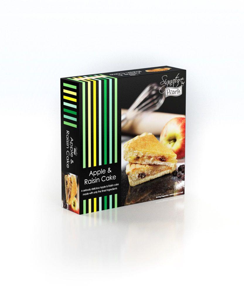A case of 6  X  Apple & Raisin Cakes 300ge each