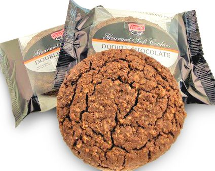 Case of 12 x Double Chocolate Cookies 80g