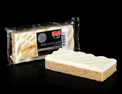 Case of 20 x White Chocolate Flavour Flapjack 120g