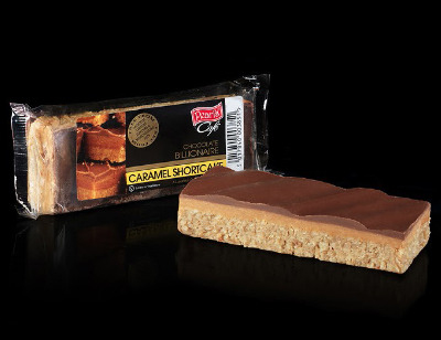 24 x Luxury Caramel Shortcake Bar 80g