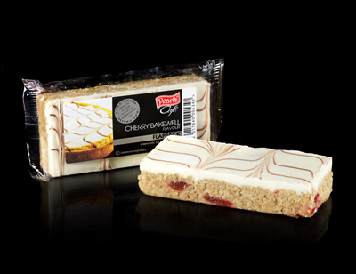 Case of 20 x Cherry Bakewell Flapjacks 120g