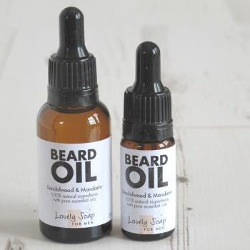 Natural Beard Softening Oil