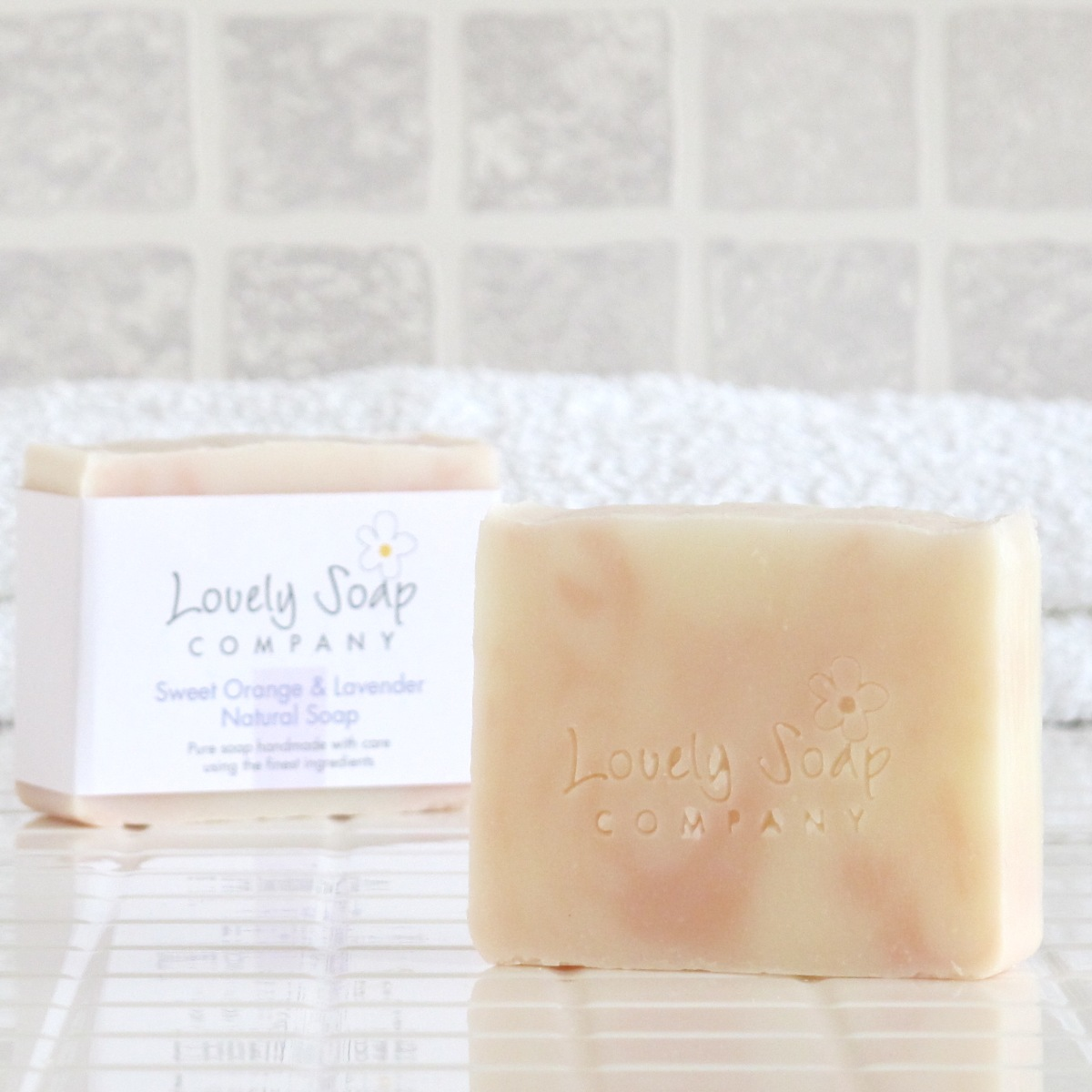 Sweet Orange & Lavender Natural Soap