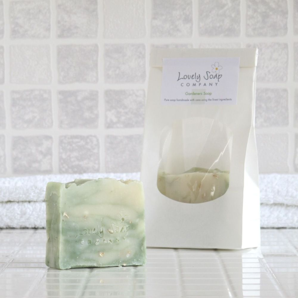 Gardeners Natural Soap wrapped option