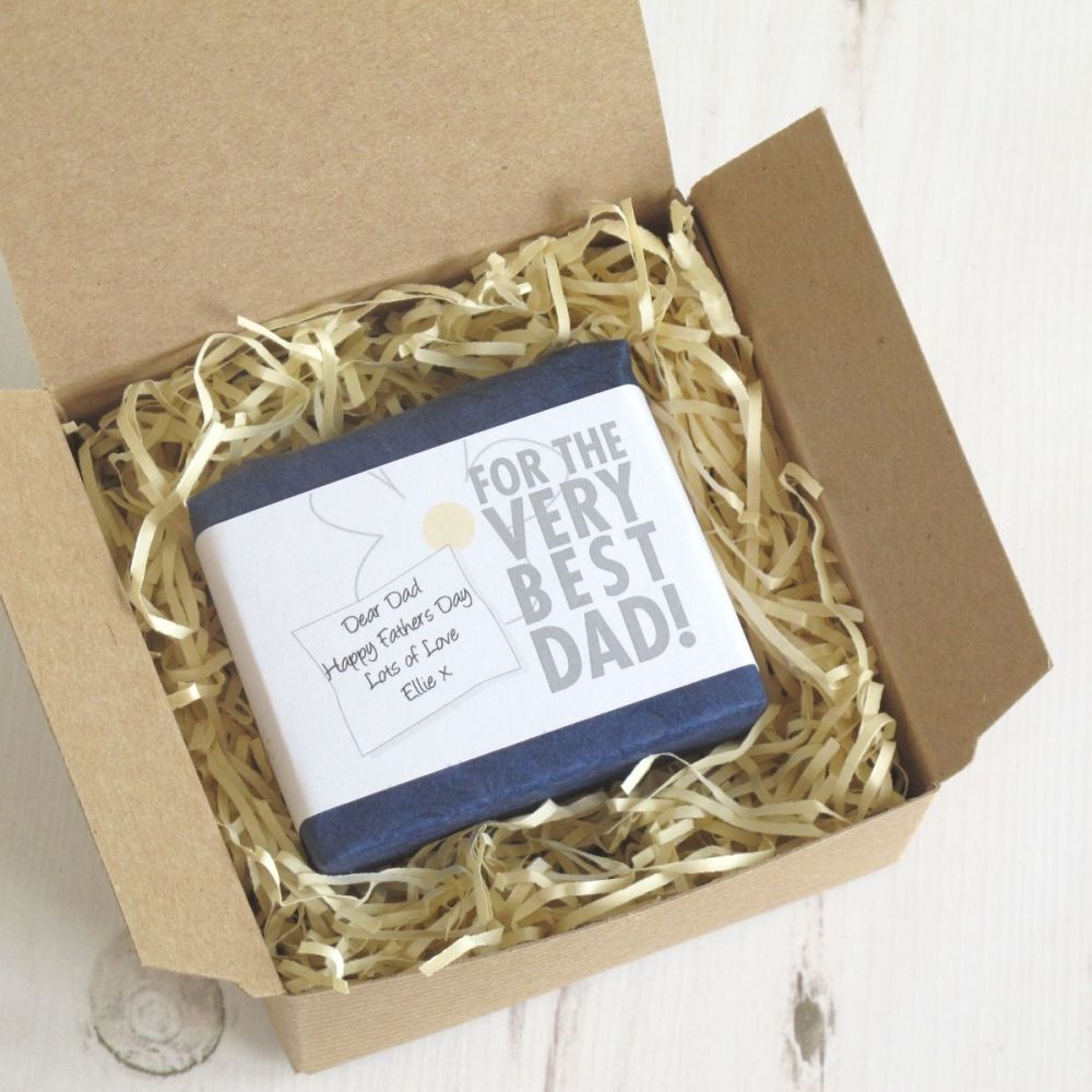 Personalised Best Dad Soap