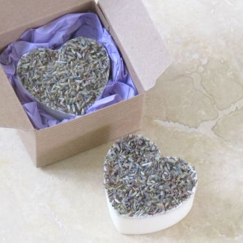 Wild Lavender Heart Soap