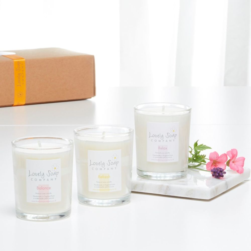 Aromatherapy Candles Gift Set