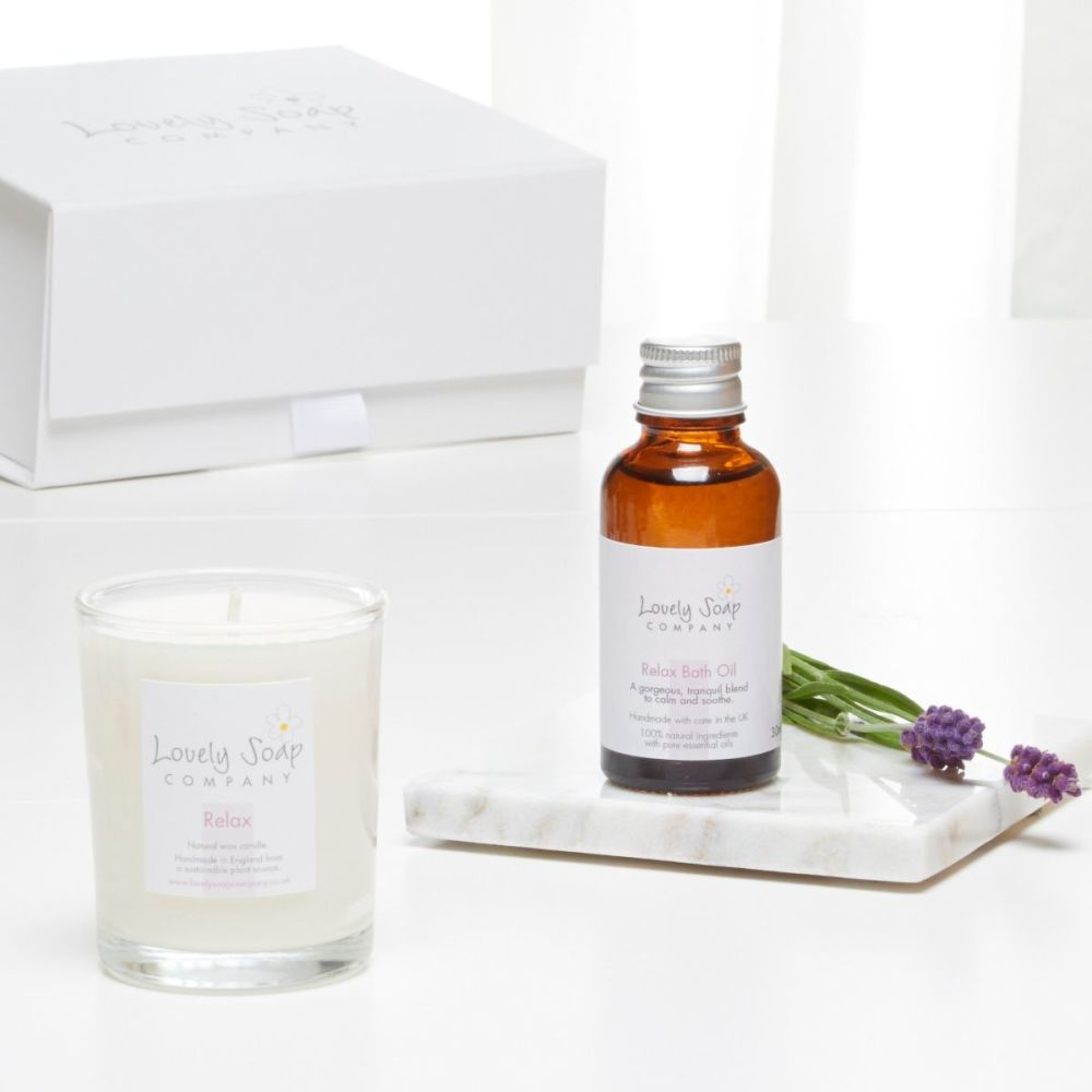 Indulgence Mini Pamper Gift Set in Relax