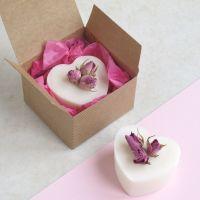 Rose Geranium Heart Soap