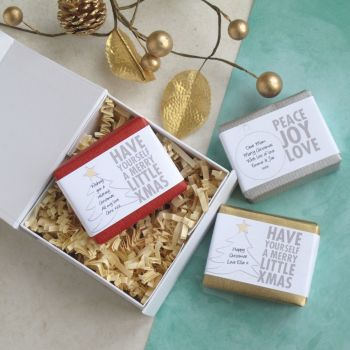 Personalised Merry Christmas Soap