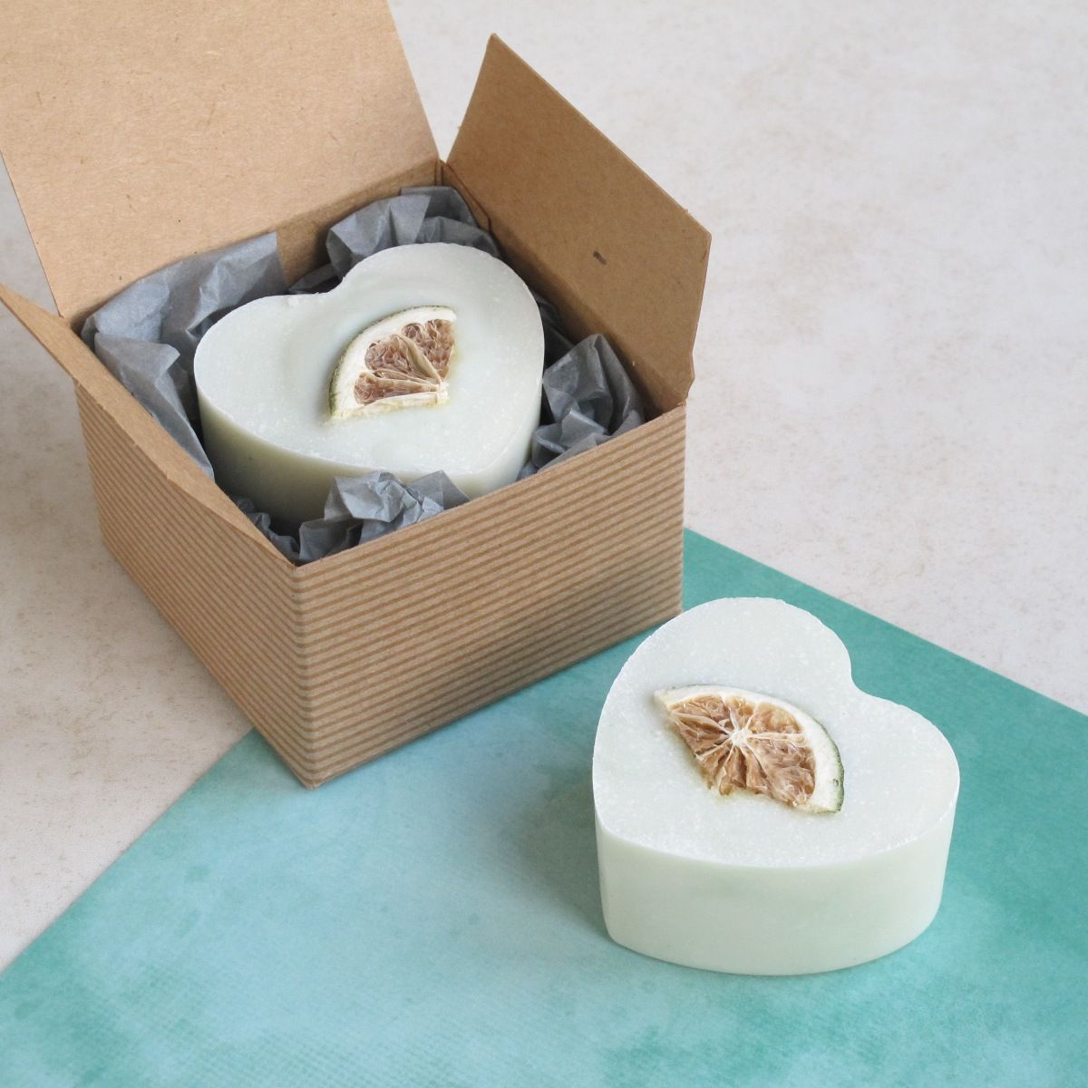 Gin and Tonic Heart Soap by Lovely Soap Company