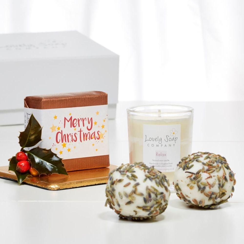 Christmas Aromatherapy Bath Gift Set