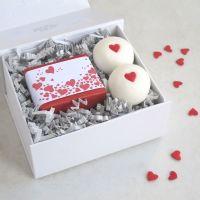 Romantic Hearts Bathtime Bliss Gift Set