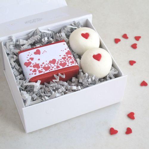 Valentine's Bathtime Bliss Gift Set by Lovely Soap Company