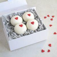 Valentine Hearts Bath Truffles Gift Set