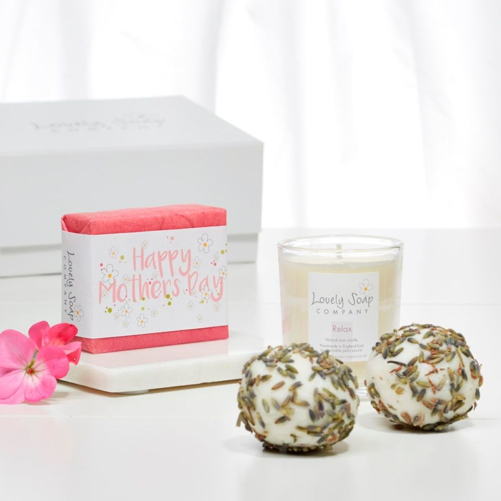 Mother's Day Pamper Gift by Lovely Soap Company