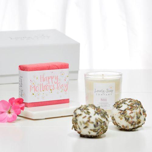 Mother's Day Aromatherapy Bath Gift Set by Lovely Soap Company