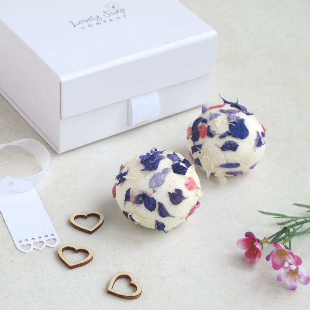 Bridesmaid Thank You Bath Truffles Gift by Lovely Soap Company