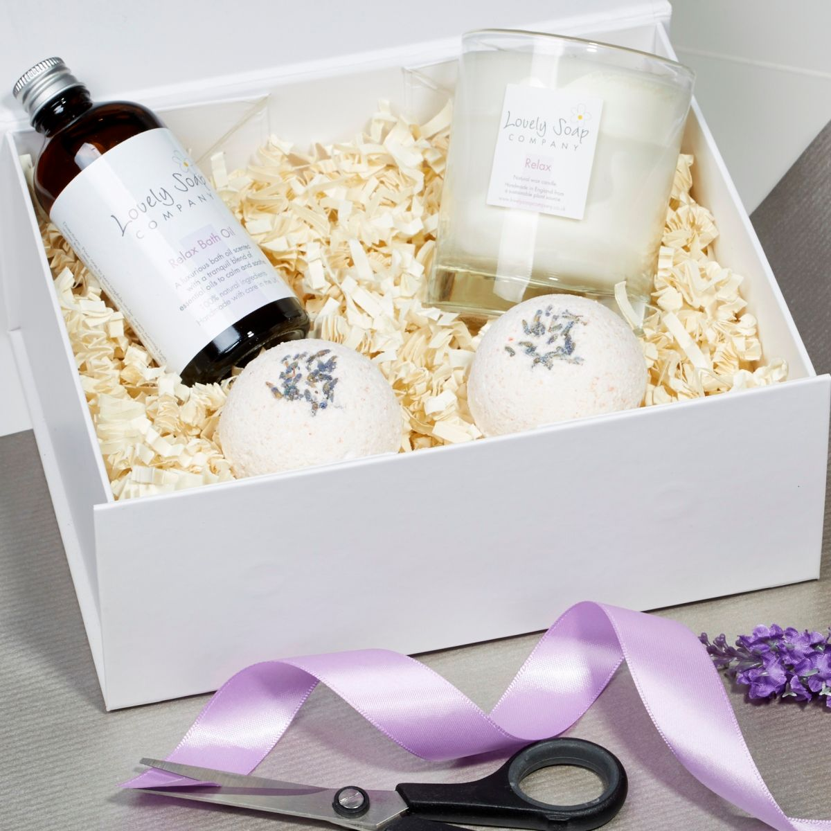 create your own pamper hamper bath gift set
