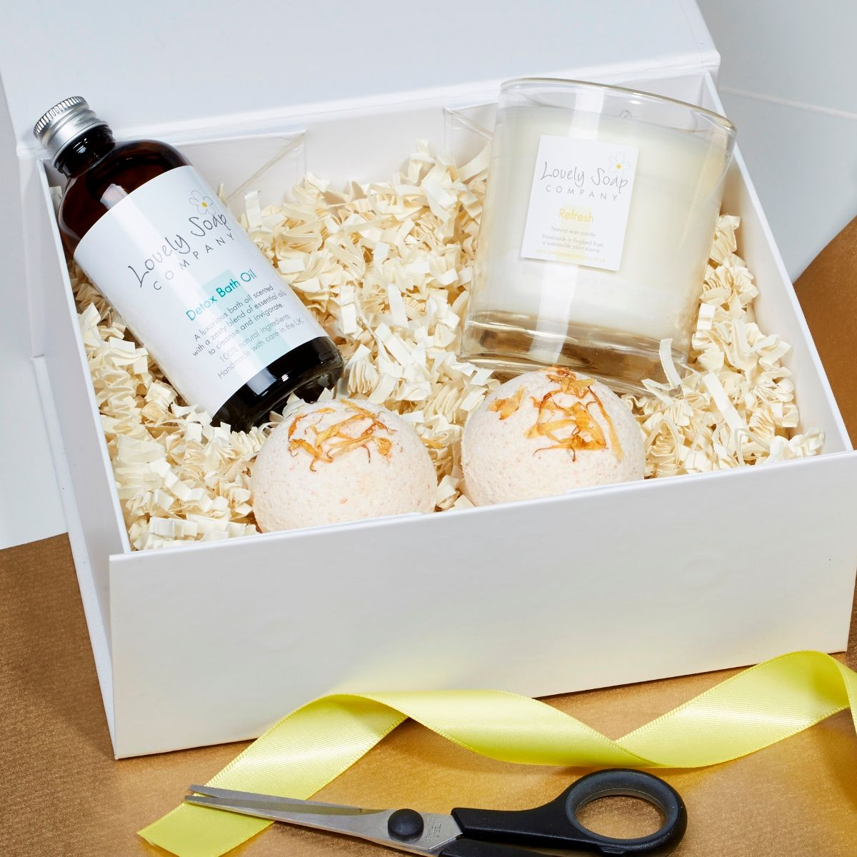 create your own refreshing pamper hamper with Lovely Soap Company