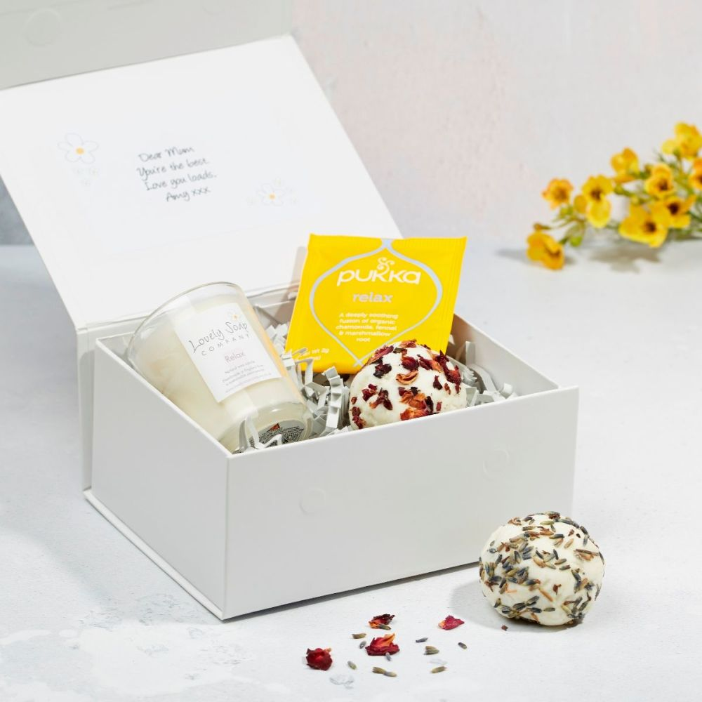Mum's Me Time Pamper Kit by Lovely Soap Company