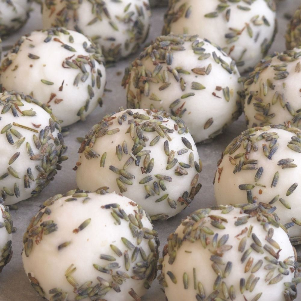 Lavender Cocoa Butter Bath Truffles by Lovely Soap Company