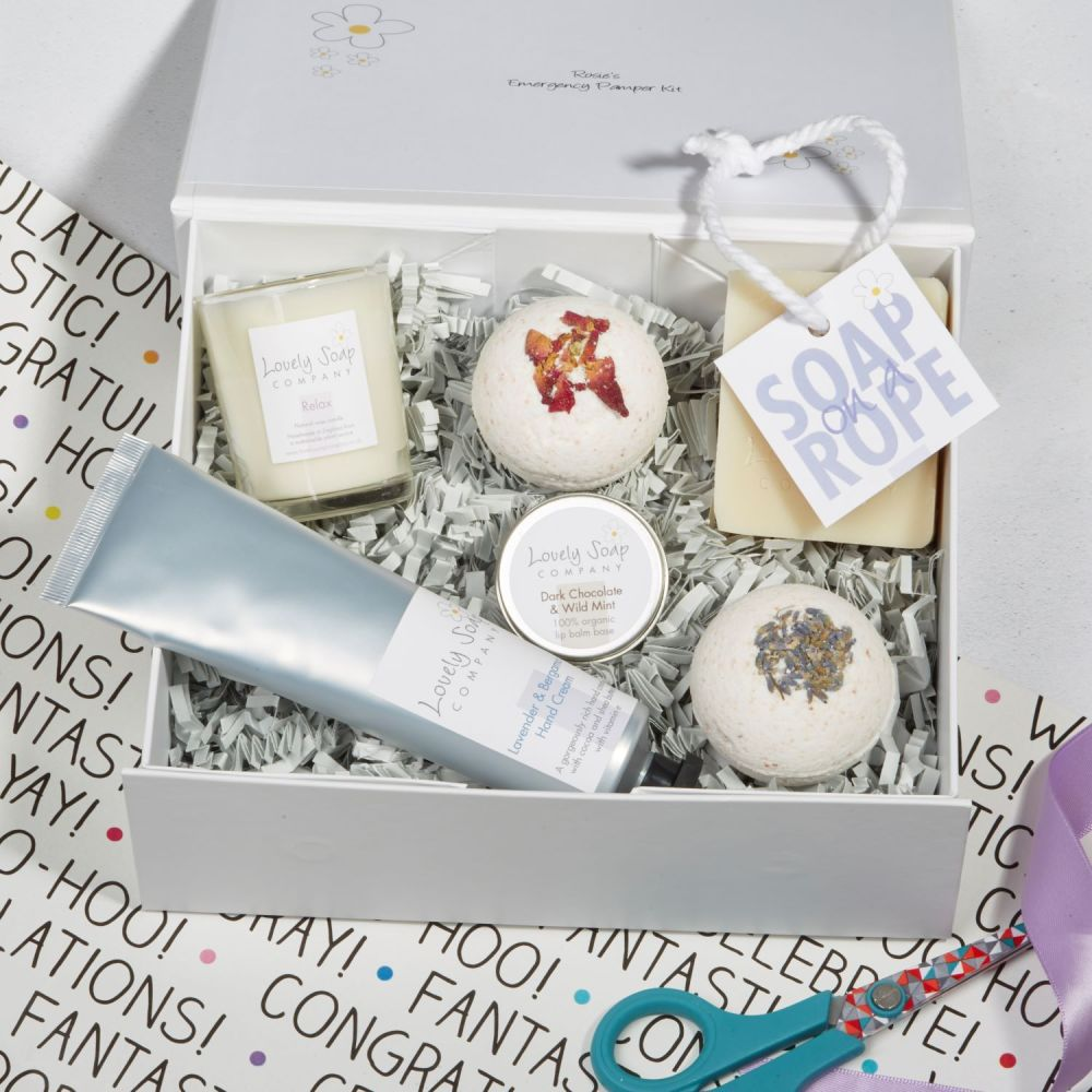 Student Survival Pamper Kit by Lovely Soap Company