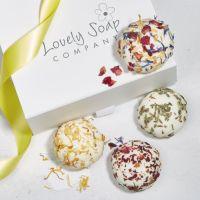 Luxury Cocoa Butter Bath Truffles Gift Set