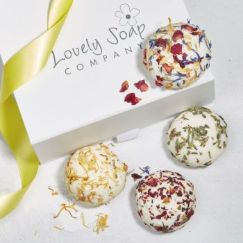Luxury Cocoa Butter Bath Truffles Gift Set