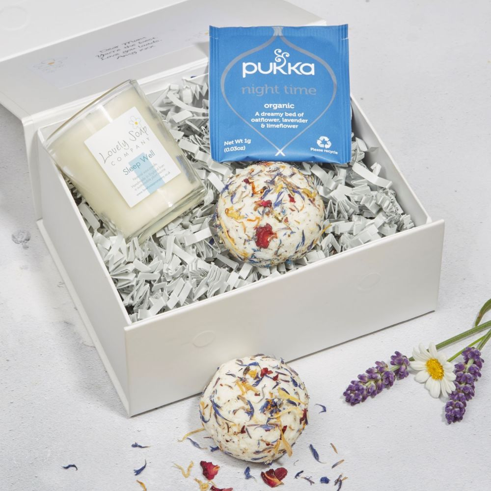 Mum's Sleep Well Pamper Kit by Lovely Soap Company