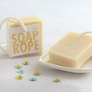 Grapefruit & Lemongrass Soap on a Rope