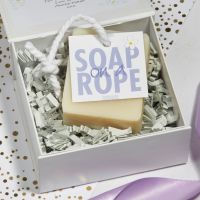 Personalised Lavender Soap on a Rope Gift