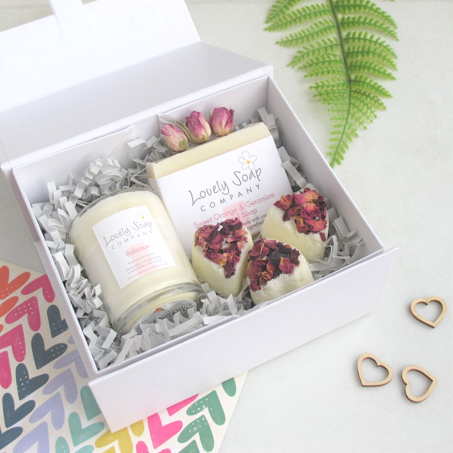 Natural Pamper Gift Set by Lovely Soap Co