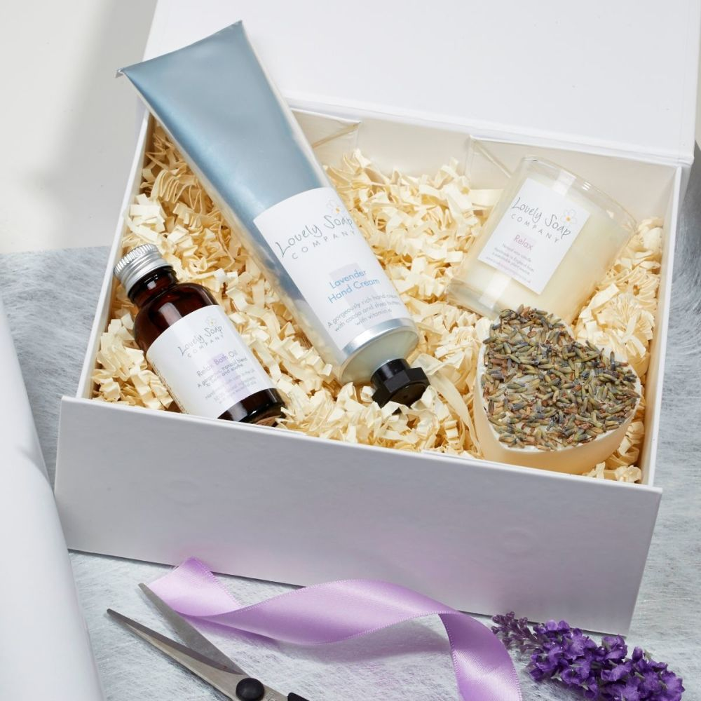 Relaxing Spa Gift Set by Lovely Soap Company