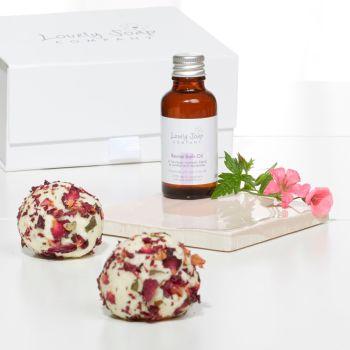 Rose Aromatherapy Pamper Gift
