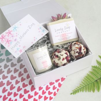 Personalised Mothers Day Pamper Box