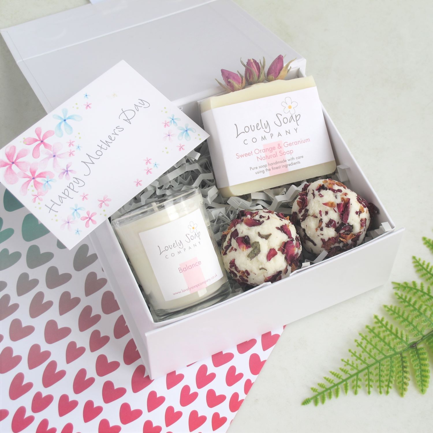 Personalised Mothers Day Pamper Gift by Lovely Soap Co