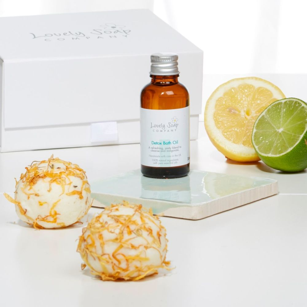 Refreshing Aromatherapy Pamper Gift by Lovely Soap Co