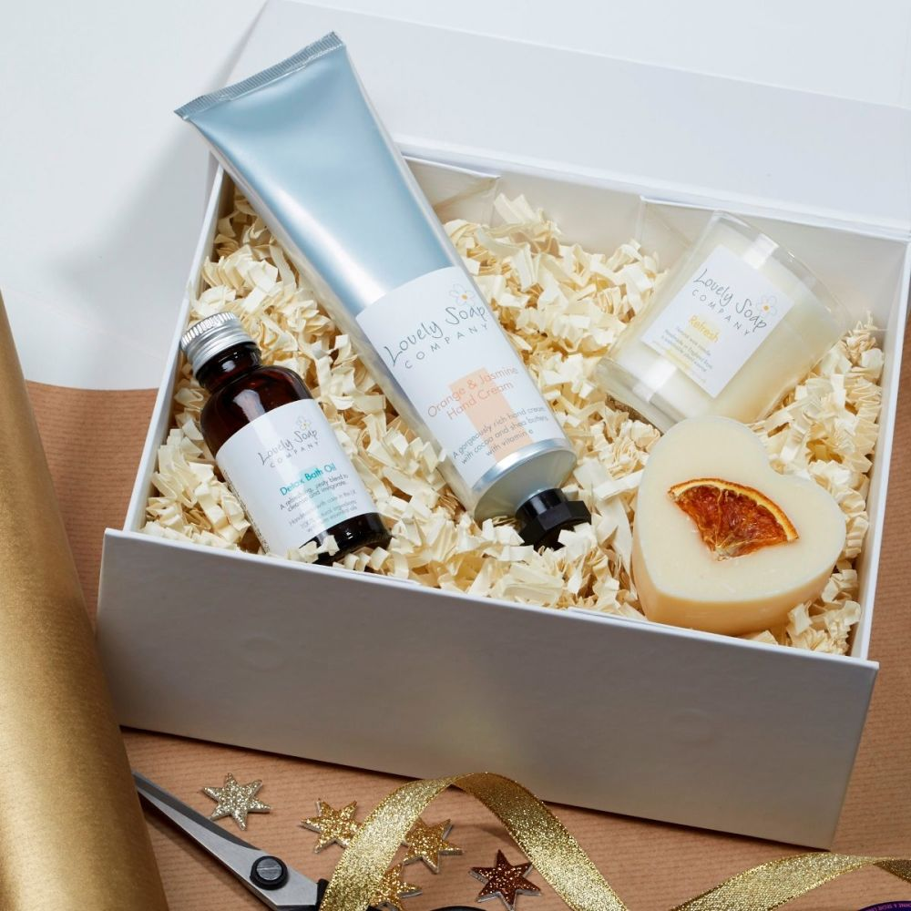 Refreshing Spa Gift Set by Lovely Soap Co