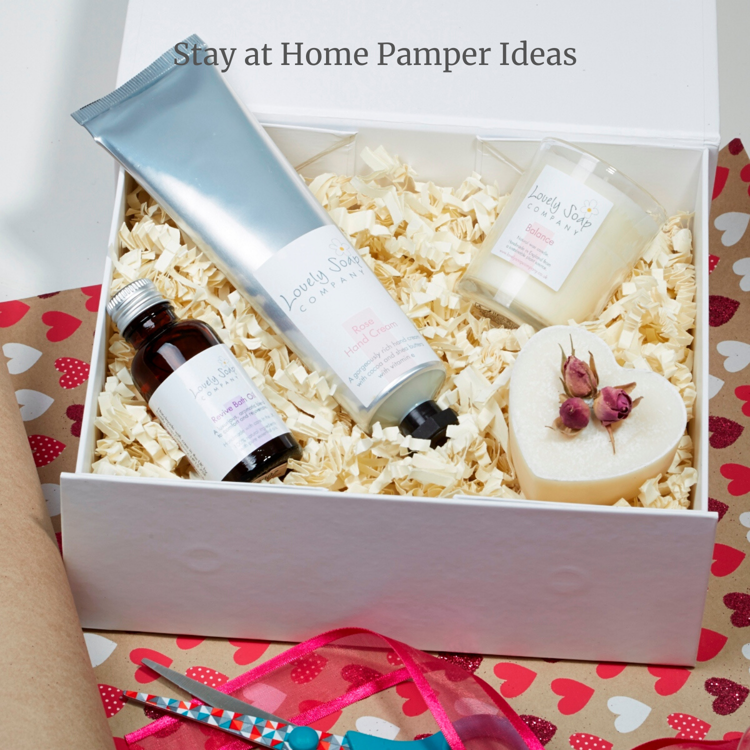 Aromatherapy Spa at home gift by Lovely Soap Co