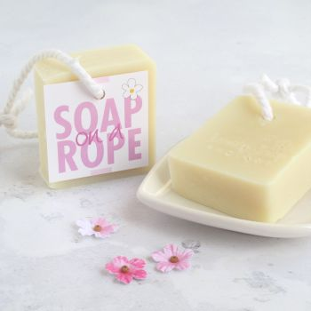 Sweet Orange & Geranium Soap on a Rope