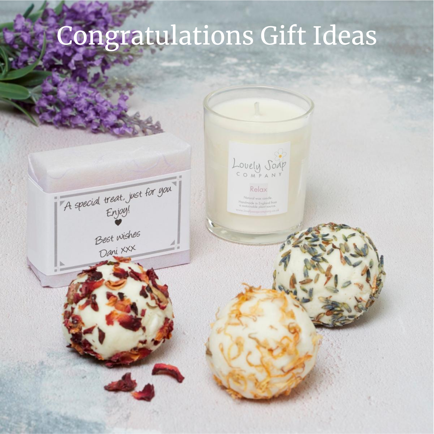 congratulations gift ideas exam pass gifts Lovely Soap CoLovely Soap Co
