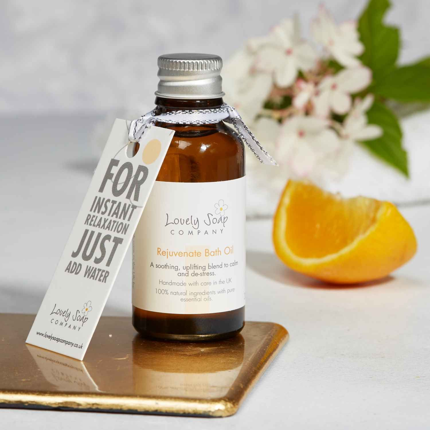 Thinking of You personalised pamper gift by Lovely Soap Co