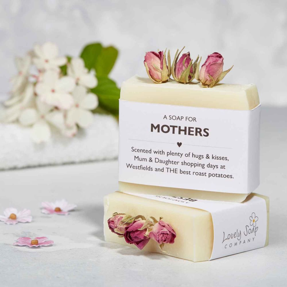 Personalised Sentiments Soap for Mum by Lovely Soap Co