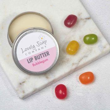 Organic Bubblegum Lip Butter